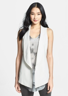 Eileen Fisher Shawl Collar Long Vest (Regular & Petite)