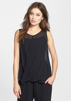 Eileen Fisher The Fisher Project Sheer Silk Georgette Tank