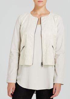 Eileen Fisher Short Jacquard Jacket