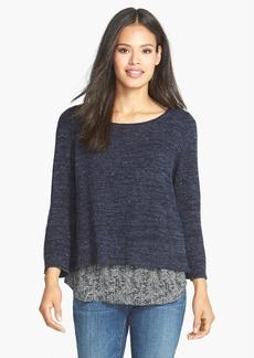 Eileen Fisher Silk Boxy Sweater (Petite)