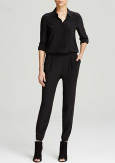 Eileen Fisher Silk Jumpsuit - The Fisher Project