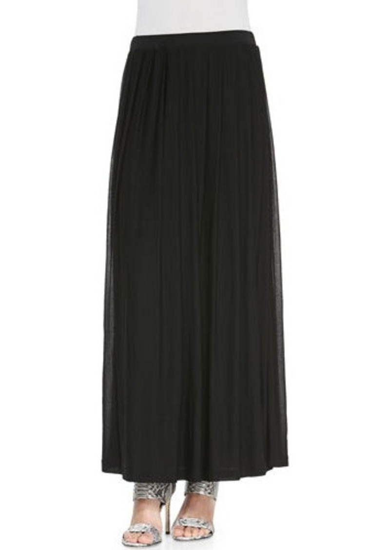 eileen fisher eileen fisher silk pleated maxi skirt silk