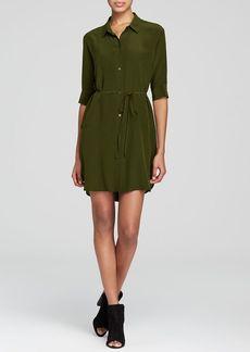 Eileen Fisher Silk Shirt Dress - Bloomingdale's Exclusive