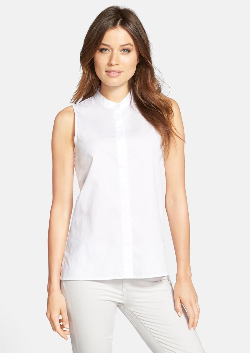 Eileen fisher eileen fisher sleeveless organic cotton lawn for Eileen fisher organic cotton t shirt