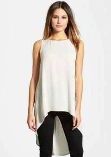 Eileen Fisher Sleeveless Silk High/Low Tunic (Regular & Petite) (Online Only)