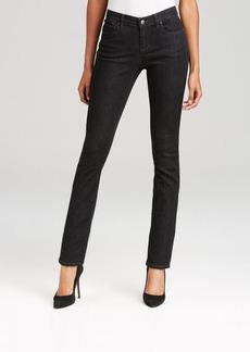 Eileen Fisher Slim Ankle Jeans in Black Indigo
