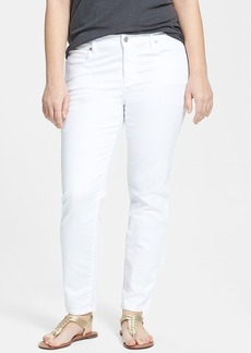 Eileen Fisher Slim Ankle Jeans (Plus Size)