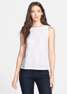 Eileen Fisher Stretch Cotton Tank