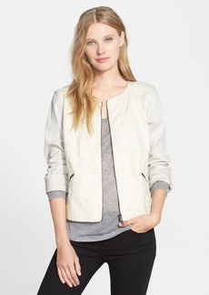 Eileen Fisher Stretch Jacquard Jacket (Regular & Petite)