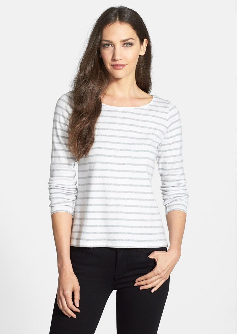 Eileen fisher eileen fisher stripe organic cotton ballet for Eileen fisher organic cotton t shirt