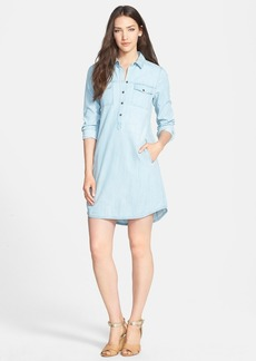 Eileen Fisher Tencel® & Cotton Chambray Shirtdress
