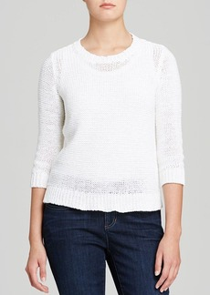 Eileen Fisher Textured Crewneck Sweater
