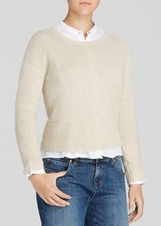 Eileen Fisher Textured Pullover