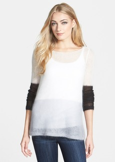 Eileen Fisher The Fisher Project Bateau Neck Mohair Blend Sweater