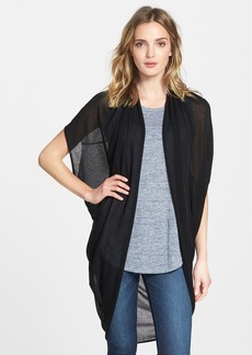 Eileen Fisher The Fisher Project Drape Back Oval Cardigan