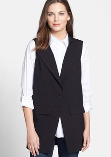 Eileen Fisher The Fisher Project Notch Collar Long Vest