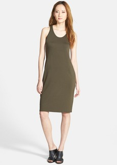 Eileen Fisher The Fisher Project Racerback Jersey Midi Dress