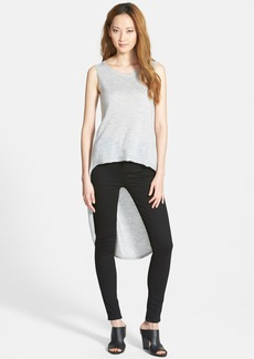 Eileen Fisher The Fisher Project Scoop Neck Cashmere High/Low Tank (Online Only)