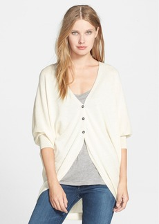 Eileen Fisher The Fisher Project Silk & Alpaca V-Neck Cardigan
