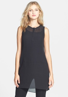 Eileen Fisher The Fisher Project Silk Georgette Layering Dress