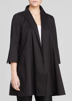 Eileen Fisher Three Quarter Sleeve Jacket