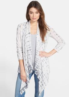 Eileen Fisher Tie Dye Alpaca & Silk Cardigan (Regular & Petite)