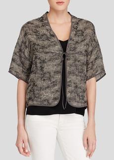 Eileen Fisher Tie Front Jacket