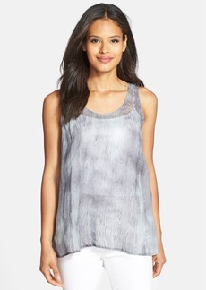 Eileen Fisher U-Neck High/Low Tank
