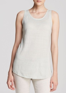 Eileen Fisher U Neck Long Tank