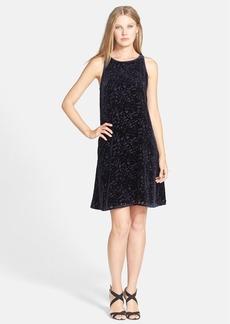 Eileen Fisher 'Velvet Vines' Sleeveless Trapeze Dress (Regular & Petite)