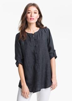 Eileen Fisher Washed Linen Tunic (Regular & Petite)