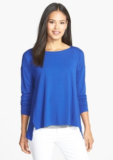 Eileen Fisher Wide Neck Boxy Top