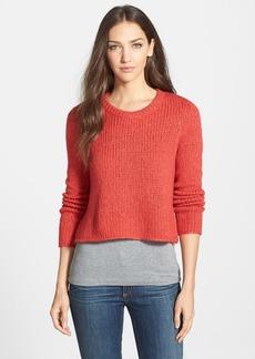 Eileen Fisher Wool Blend Boxy Sweater (Petite)