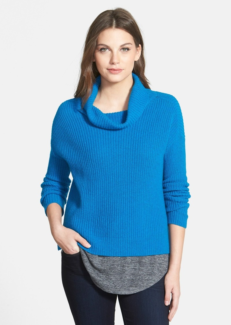 Eileen Fisher Eileen Fisher Yak Amp Merino Cowl Neck Sweater