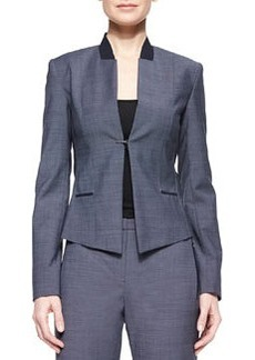 Donilyn Jacket W/ Jersey Trim   Donilyn Jacket W/ Jersey Trim