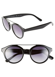Elie Tahari 48mm Round Polarized Sunglasses