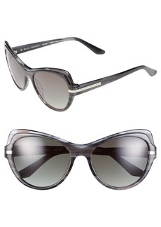 Elie Tahari 54mm Cat Eye Polarized Sunglasses