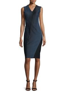 Elie Tahari Adine Sleeveless Degrade Jacquard Dress  Adine Sleeveless Degrade Jacquard Dress