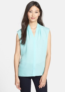 Elie Tahari 'Adira' Colorblock Silk Blouse