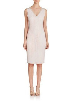 Elie Tahari Adrienne Neoprene Dress