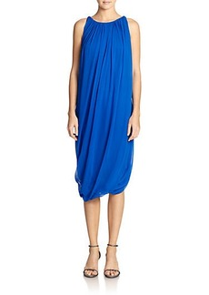 Elie Tahari Alanis Draped Dress