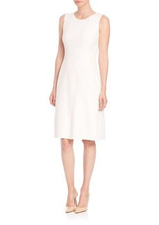 Elie Tahari Alayna Textured Crepe Dress