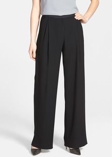 Elie Tahari 'Alena' Pleat Front Wide Leg Pants