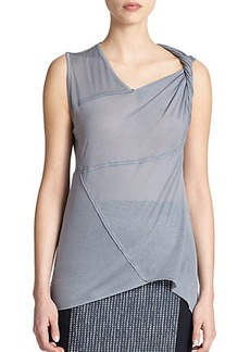 Elie Tahari Alena Stretch-Modal Top