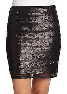 Elie Tahari Alexis Sequin Skirt