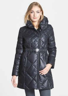 Elie Tahari 'Amsterdam' Pillow Collar Down Coat
