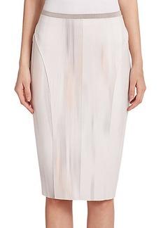 Elie Tahari Arianna Neoprene Skirt