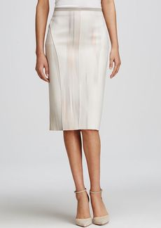 Elie Tahari Arianna Reversible Pencil Skirt