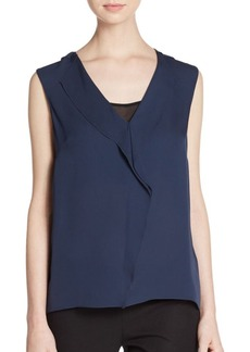 Elie Tahari Ashley Silk Blouse