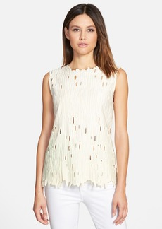 Elie Tahari 'Ashley' Sleeveless Blouse